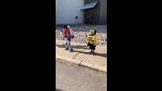 Kids performance of transformers