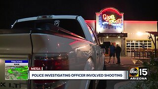 Police respond to officer-involved shooting in Mesa