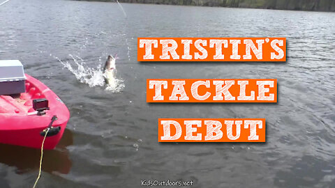 S2:E14 Tristin's Tackle Debut | First Day on the Lake 2020