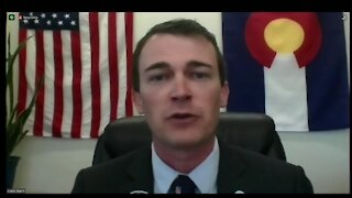 Colorado Secretary of State Jena Griswold provides a morning update on Election Day