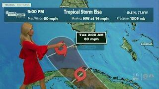 Tropical Storm Elsa update - 7/4/21 - 6pm