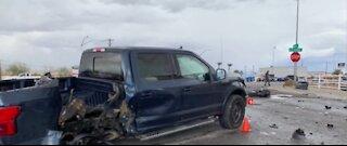 Several serious crashes throughout Las Vegas