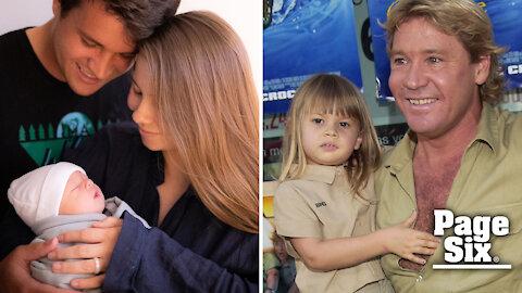 Bindi Irwin gives birth, honors dad Steve Irwin with name