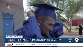First fully in-person graduation for Pima County drug treatment program