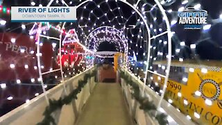 Giant Adventure: The River of Lights in Downtown Tampa