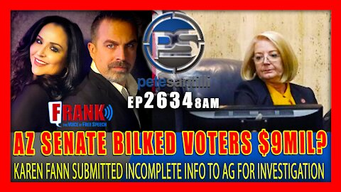 EP 2634-9AM AZ SUBMITTED 'REDACTED' & INCOMPLETE REPORTS TO AG FOR CRIMINAL INVESTIGATION