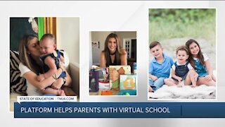 Website helps overwhelmed parents find affordable way to get help for their children learning virtually