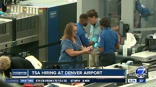TSA is hiring at Denver International Airport