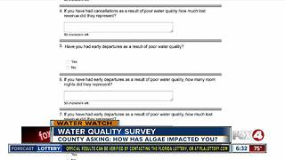 New survey on water quality impacting business in Southwest Florida