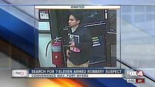 Armed robbery reported at Fort Myers convenience store Thursday morning