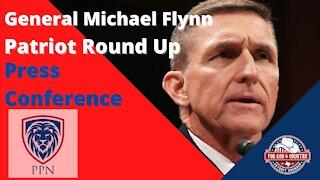 General Flynn Press Conference (Patriot Round Up Dallas Texas)