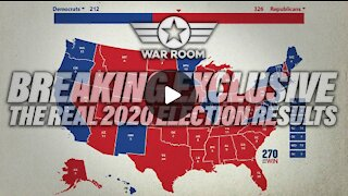 Breaking Exclusive: The REAL 2020 Presidential Election Results _