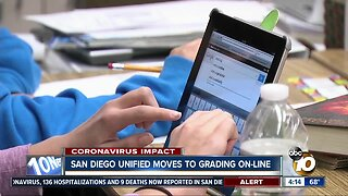San Diego Unified moves grading online
