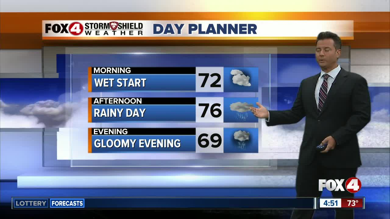 Showers and storms likely Friday in Southwest Florida