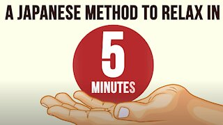 Relieving nervous tension in 5 minutes