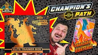 Champion's Path Elite Trainer Box #2 | Charizard Hunting | Pokemon Cards Opening