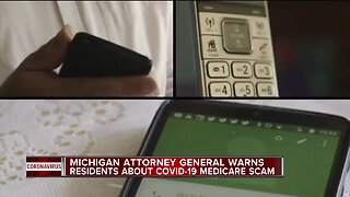 Michigan Attorney General warning of coronavirus phone scams to steal Medicare info