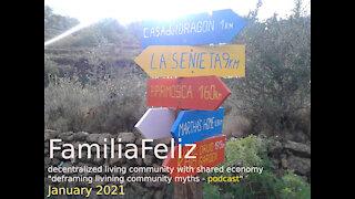 FamiliaFeliz Podcast 2021 - 01 - deframing the myth of community life