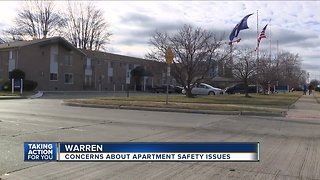 Concerns about apartment safety issues