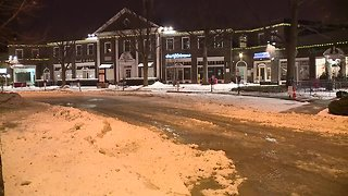 Water main break causes flooding at Shaker Square