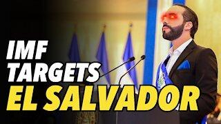 IMF targets El Salvador after making Bitcoin legal tender