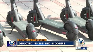 Fort Pierce launches electric scooter share program