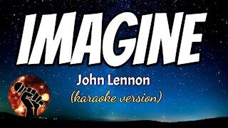 IMAGINE - JOHN LENNON (karaoke version)