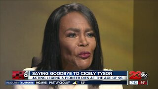 Saying goodbye to Cicely Tyson