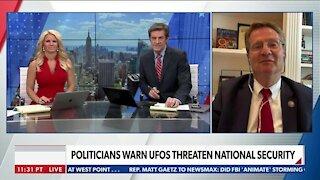 POLITICIANS WARN UFOS THREATEN NATIONAL SECURITY