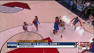 Thunder Lose Game 1 to Blazers 104-99