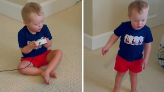 Sweet toddler with down syndrome gets Alexa to play his song