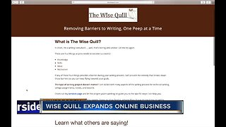Wise Quill expands online business during pandemic
