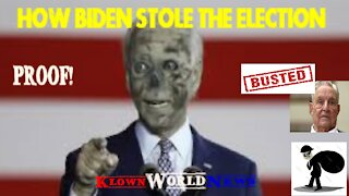 Proof Biden stole the election DOMINION!