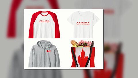 CANADA T-SHIRT. I LOVE YOU CANADA/SAMER BRASIL (AMAZON.COM)
