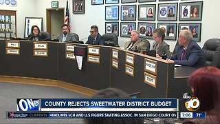 County rejects Sweetwater District budget