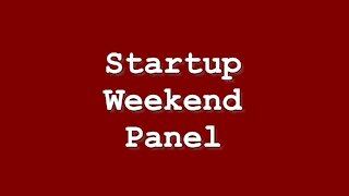 Fairfield Startup Weekend Interviews: What was your favorite moment?