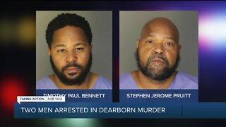 Two men arrested in Dearborn murder