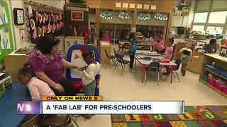 Euclid City Schools creates 'fab lab' to teach preschool students STEM skills