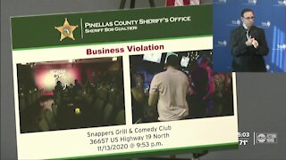 Pinellas County Deputies bust businesses for breaking COVID rules