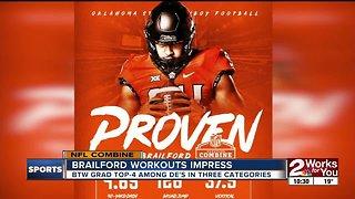 Jordan Brailford talks impressive performance at NFL Combine