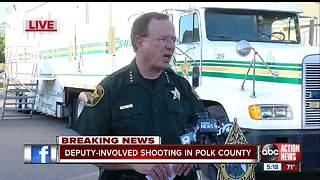 Polk County Sheriff investigates deadly deputy-involved shooting