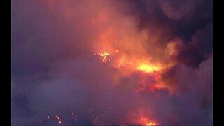 California wildfire burns more than 10k acres