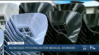 Muskogee pitching in for medical workers
