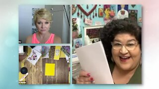 Crafty Chica shows us how to make our own creative journal