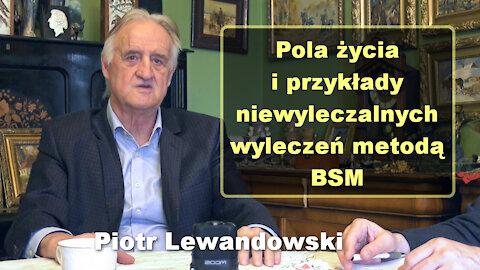 Pola życia i przykłady niewyleczalnych wyleczeń metodą BSM - Piotr Lewandowski
