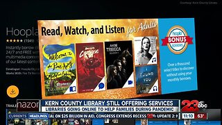 Kern County Library goes online to help families stay entertained during the pandemic
