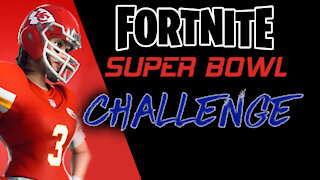 Fortnite Super Bowl Challenge