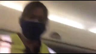 Breastfeeding mom harassed by mask police on plane