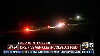 Wrong-way driver fled scene of deadly I-17 crash