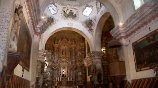 San Xavier Mission is open to visitors, with major restrictions